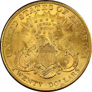 1904 $20 Liberty Head Double Eagle NGC MS65
