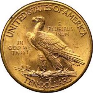 1926 $10 Indian Head Eagle PCGS MS64